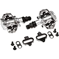 2015 Shimano MTB Mountain Bike Clipless Pedals w/ SPD Cleats- PD-M520 SILVER