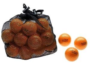 Silverline 25 Golfbälle Champion - Farbe: orange