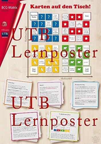 Fit für die Prüfung: BCG-Matrix: Lernposter (UTB Lernposter)