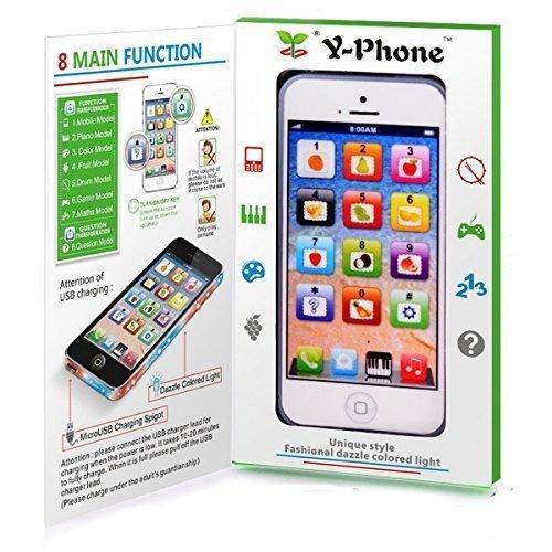 Preisvergleich Produktbild SPIELZEUG Handy Baby Kinder Y-Phone Bildungs Lernen Kinder iPhone Spielzeug 4s 5