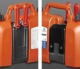 Husqvarna 580754201 - Tanica carburante Combinata, Benzina 5 l e olio 2.5 l, Multicolore