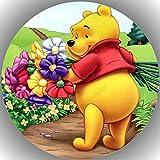 Premium Esspapier Tortenaufleger Tortenbild Geburtstag Winnie Pooh N6