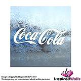 Coca Cola Weiß Abziehbild Truck Bumper Fenster Vinyl Weiß Aufkleber by Inspired Walls®