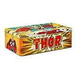 Logoshirt Thor Blechdose - Dose aus Blech mit Marvel Comics Motiv - Gelb - Lizenziertes Originaldesign