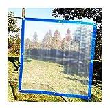ATR Umrandete Kunststofffolienpflanzen schützende Dicke Plastikplane regendicht transparente wasserdichte Plane (Größe: 5x6M)