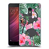 Head Case Designs Flamingos Wilder Wald Soft Gel Hülle für Xiaomi Redmi Note 4