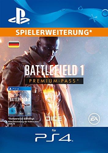 Battlefield 1: Premium Pass - Season Pass DLC [PS4 PSN Code - deutsches Konto]