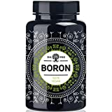 DiaPro Boron Hochdosierte Boron-Tabletten mit 3 mg Bor pro Tablette aus Natriumborat 365 Stück Jahresvorrat 100% Vegan Laborgeprüft