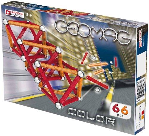 Preisvergleich Produktbild Geomag 73 - Kids Color 66-teilig