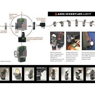 Powery Halogen hand lamp SPP-12, Taschenlampen