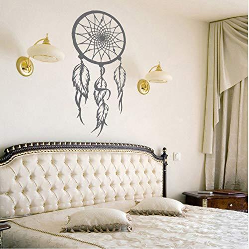 Cmhai Vinilo AtrapasueñosSímbolo De La Etiqueta De La Pared Amuleto Etiqueta De La Pared Home Living Room Decor Extraíble Dreamcather Mural De Pared 57 * 117 Cm