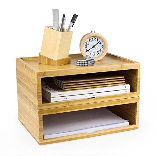 GYP Büro auf dem Tisch Computer Monitor Erhöhte Frame Büromaterial Storage Rack Regal kaufen (Farbe : A)