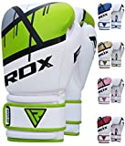 RDX QUADRO-DOME Boxing Fitness Gloves (GREEN)