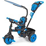 Little Tikes 4-In-1 Trike Deluxe Edition - Neon Blue