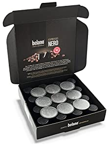 Get Belano Coffee Capsules compatible with Nespresso * Nero 100% Arabica from Belano