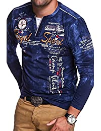 MT Styles 2in1 T-shirt à manches longuesP-ROYAL homme R-0858