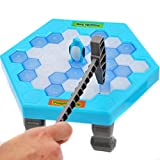 WINWINTOM Pinguin Eis Kinder Puzzle Spiel Pause Eis Block Hammer Trap Party Spielzeug