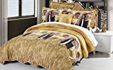 BNF Home Safari Elephant Quilts 4 Piece Set, King, Safari Sham/Elephant Bedspread - Best Reviews Guide