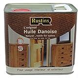 Rustin's (DANO2500) - Aceite danés - Interior y exterior - Para todo tipo de madera - 2.5L