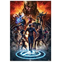 Avengers Endgame Heroes Battle Mini Poster