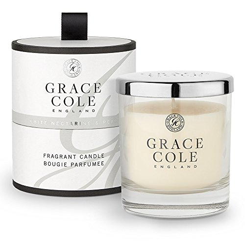 Blanc Nectarine & Pear Bougie 200 g par Grace Cole