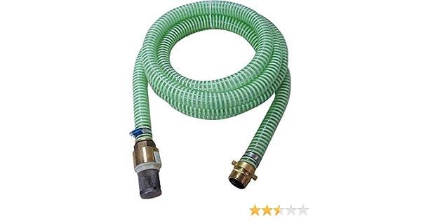 Hauswasserwerk Sauggarnitur KA 4P Güde Gartenpumpe 94440 Messing-Amaturen