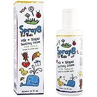 Spray8 For Kids Crème apaisante pour lait et couches. Produit totalement naturel. Sans parabène. Sans oxyde de zinc.