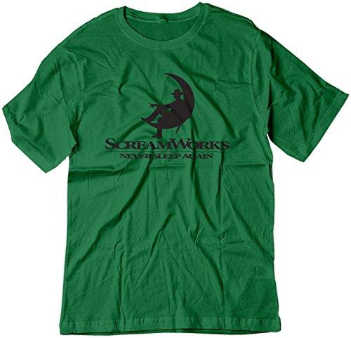 BSW  Herren T-Shirt Gr. X-Small, Kelly Green (Michael Und Kelly Halloween)