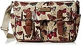 SWANKYSWANS Womens Noel Paris Butterfly Classy Womens bag Satchel Beige