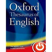 The Oxford Thesaurus of English (División Academic)