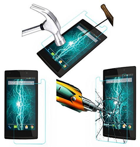 Acm Tempered Glass Screenguard For Lava Iris Fuel 60 Mobile Screen Guard Scratch Protector  available at amazon for Rs.179