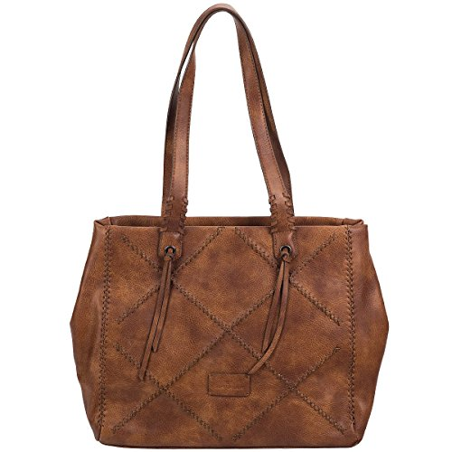 Tom Tailor Keyla Shopper Tasche 42 cm Cognac