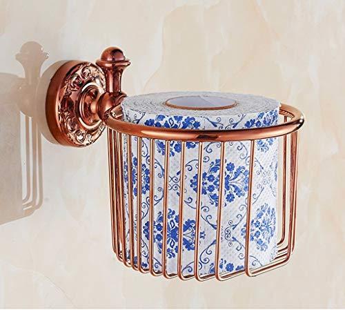 DX Handtuchhalter Tissue Basket Rollenhalter Tissue Basket Bad Toilettenpapierhalter Hand Bowl Punch Continental Alle Kupfer (Farbe: # 3) - Wc Bowl Punch