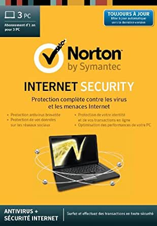 Norton Internet Security 2014 - 3 PC- 1 an [Téléchargement]