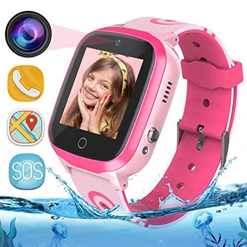 MeritSoar Tech GPS Smartwatch para Niños - WiFi + GPS + LBS...