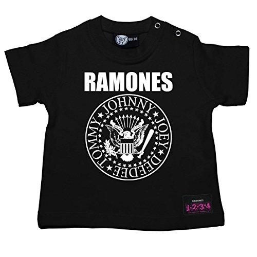 Ramones (Seal) Baby + Kids T-Shirt (62) (Punk-baby-t-shirts)