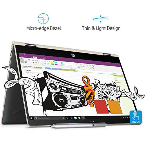 HP Pavilion x360 Convertible 4LR30PA 14-inch Laptop (8th Gen Core...
