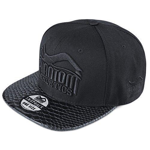 Phantom Athletics Cap 'Team' - Black Croco - Basecap,Cap...