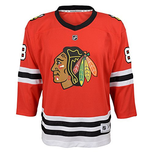 02015870932 Patrick Kane Chicago Blackhawks Youth NHL Red Replica Hockey Jersey