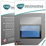 2 x Slabo Bildschirmschutzfolie Dell Venue 10 Pro Bildschirmschutz Schutzfolie Folie