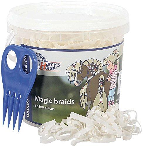 Harry's Horse 36000203-04 Magic Braids Eimer, weiß