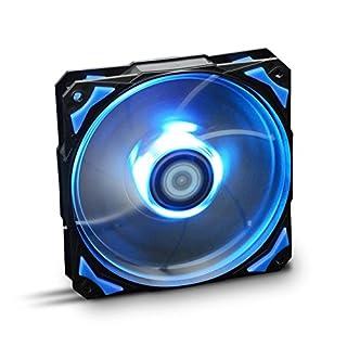 NOX– HFAN 12cm LED Fan blue