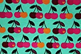 Jersey Kirschen byGraziela mint | 1,55 Meter breit | wird
