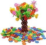VIAHART Giochi di Costruzione 'Brain Flakes' | Set da 500 Pezzi, Dischi ad Incastro in Plastica | Alternativa Creativa ai Mattoncini | Testati e Sicuri per i Bambini | Un Fantastico Giocattolo STEM per Bambini e Bambine
