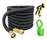 Garden Hose pipe, 50ft Expanding Hose, Water Hose Flexible Extra Strength Fabric 5000D