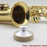 lesoxid (TM) Saxophon Dämpfer Schalldämpfer Metall Dämpfer Leichtes für Tenor-Saxophon Saxophon Professionelles Saxophon Zubehör