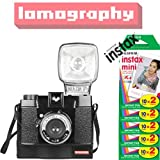 Lomography Diana F Instant Instax Mini Camera (With Fujifilm Instant Film (100 Shots)) Image