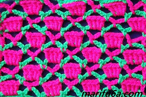crochet pattern candy stitch pattern pdf : crochet pattern candy stitch (English Edition) -
