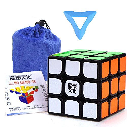 (dingze Moyu aolong V2und Weilong GTS Speed Magic Cube Professional Klassische Puzzle Twist Spielzeug Schwarz Edge World Record Race zappeln Toys Rubiks Cube New Hexaeder)