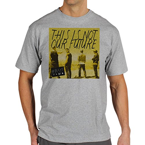 We Are Your Friends Yellow Edition Easy Looking From The Back Movie Background Herren T-Shirt Grau